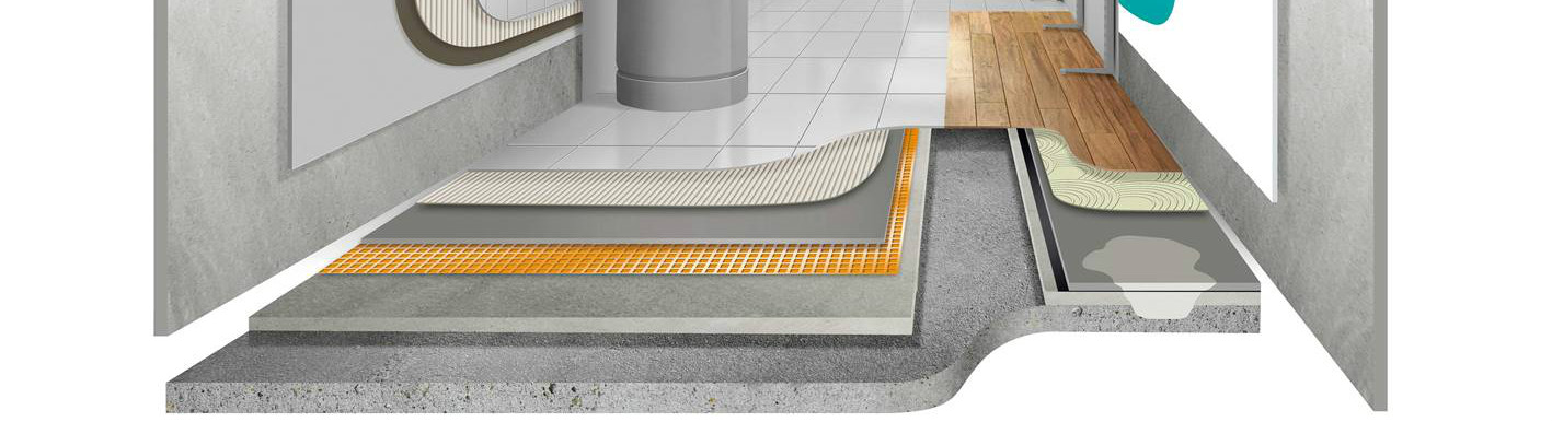 Graphic for Floor and Wall Substrate System Build Diagram